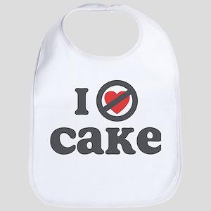 Don't Heart Cake Bib