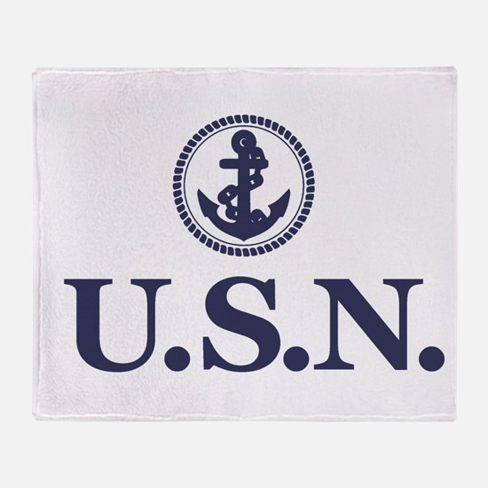 USN Throw Blanket