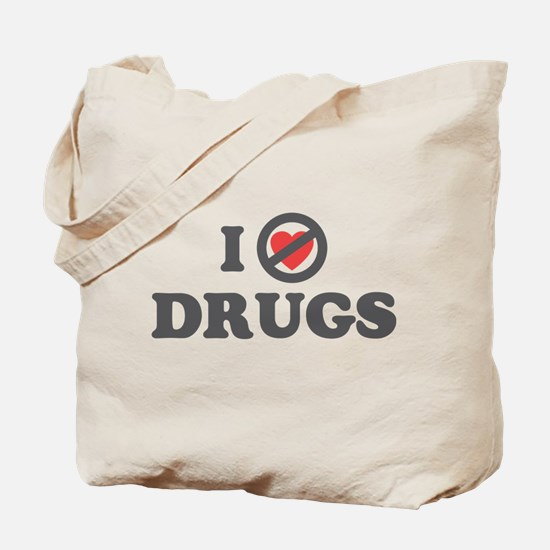 Don't Heart Drugs Tote Bag
