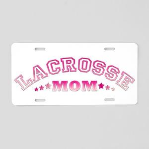 Lacrosse Mom Aluminum License Plate