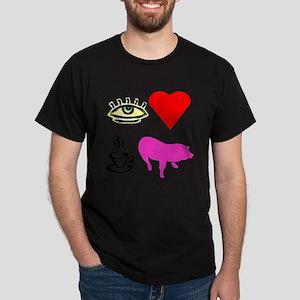 I Heart Teacup Pigs T-Shirt