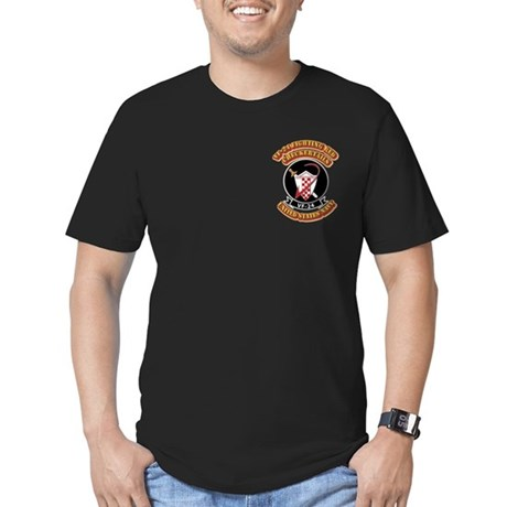 US - NAVY - VF-24 FR Checkertails Men's Fitted T-S