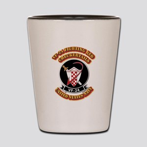 US - NAVY - VF-24 FR Checkertails Shot Glass