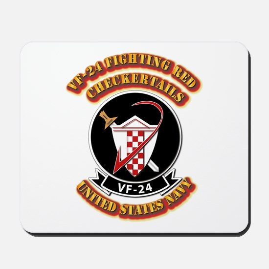 US - NAVY - VF-24 FR Checkertails Mousepad