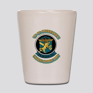 US - NAVY - VF-32 Swordsmen Shot Glass