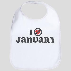 Don't Heart January Bib