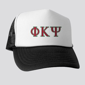 Phi Kappa Psi Fraternity Letters in Re Trucker Hat