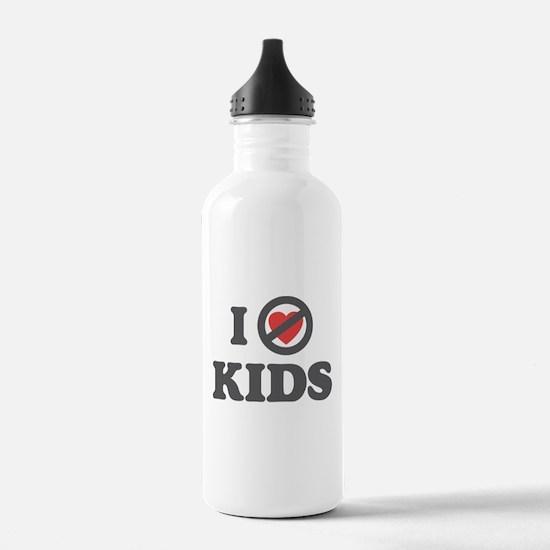 Don't Heart Kids Water Bottle