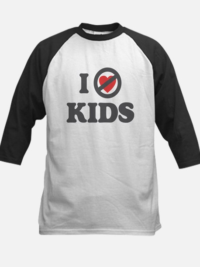 Don't Heart Kids Kids Baseball Jersey