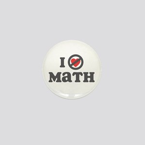 Don't Heart Math Mini Button