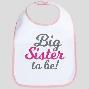 Big Sister to be Baby Bib