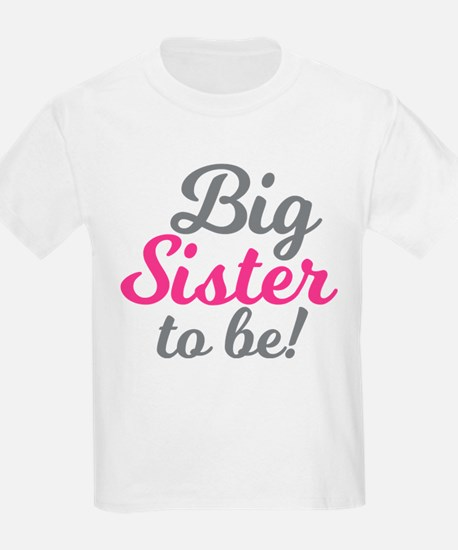 Big Sister to be T-Shirt
