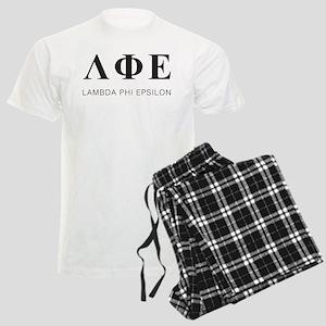 Lambda Phi Epsilon Letters Men's Light Pajamas
