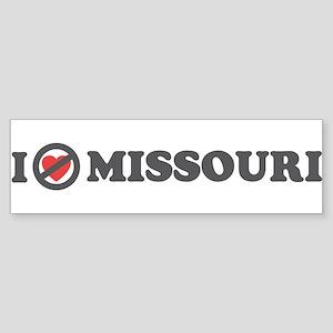 Don't Heart Missouri Sticker (Bumper)