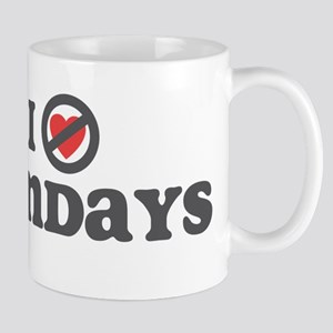 Don't Heart Mondays Mug