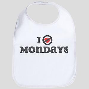 Don't Heart Mondays Bib
