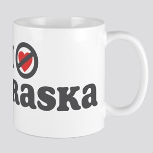 Don't Heart Nebraska Mug