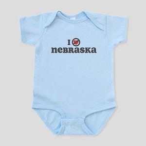 Don't Heart Nebraska Infant Bodysuit