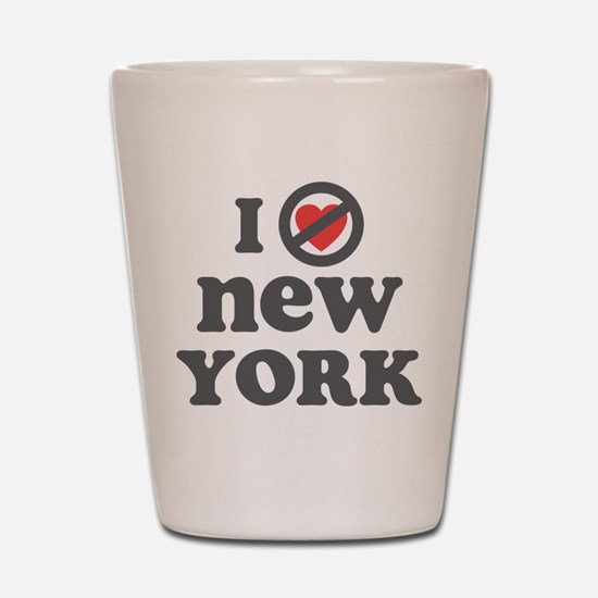 Don't Heart New York Shot Glass