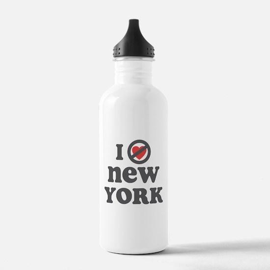 Don't Heart New York Water Bottle
