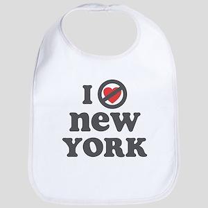 Don't Heart New York Bib