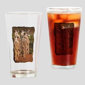 suricates/ermaennchen Drinking Glass