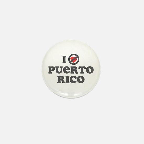 Don't Heart Puerto Rico Mini Button