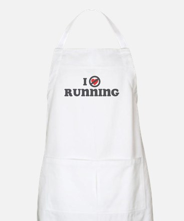 Don't Heart Running Apron