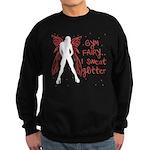 I sweat Glitter Sweatshirt (dark)