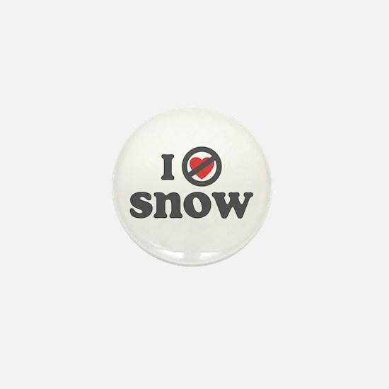 Don't Heart Snow Mini Button