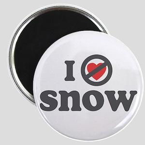 Don't Heart Snow Magnet