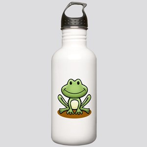 Green Frog Stainless Water Bottle 1.0L