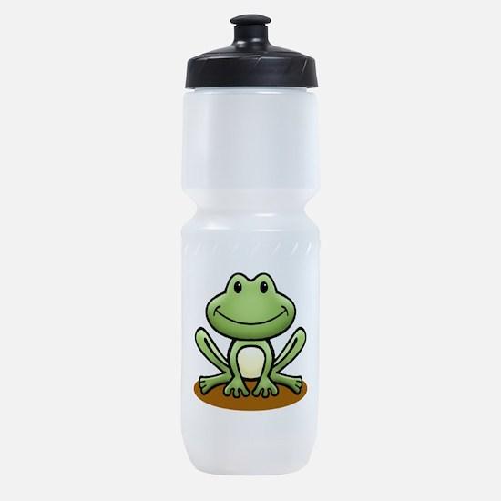 Green Frog Sports Bottle