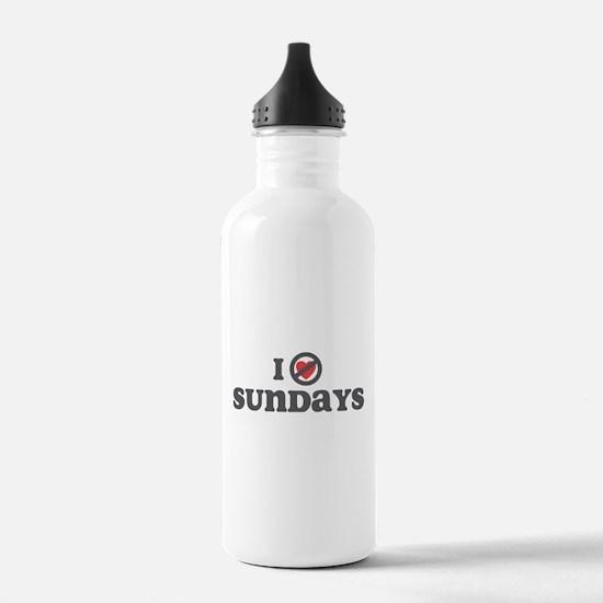 Don't Heart Sundays Water Bottle