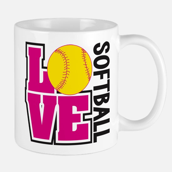 Love Softball Mugs