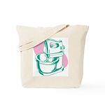 Pop Art - Green Mixer Tote Bag