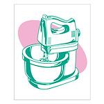 Pop Art - Green Mixer Small Poster