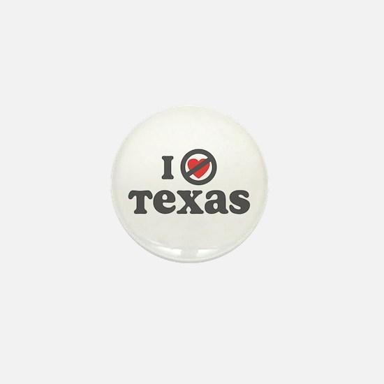 Don't Heart Texas Mini Button