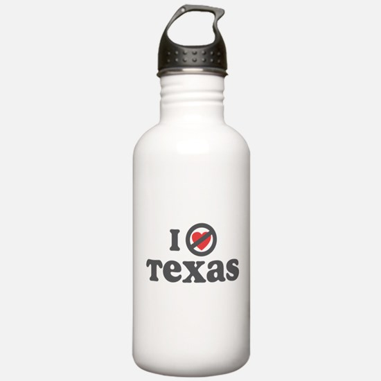 Don't Heart Texas Water Bottle