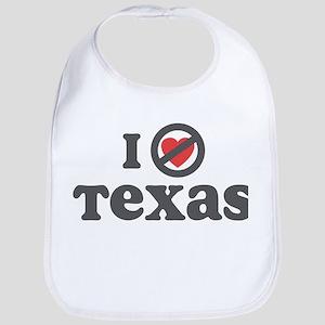 Don't Heart Texas Bib