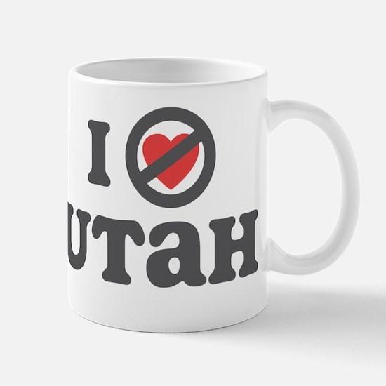Don't Heart Utah Mug