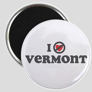 Don't Heart Vermont Magnet