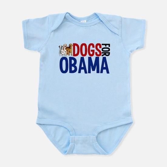 Dogs for Obama Infant Bodysuit