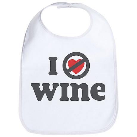Don't Heart Wine Bib
