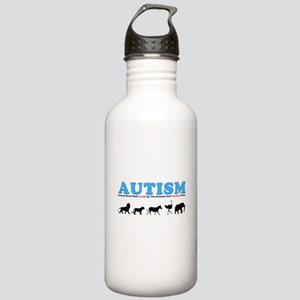 Autism, Around Since Noah Lin Stainless Water Bott