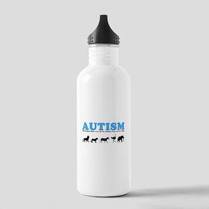 Autism, Around Since Noah Lin Stainless Water Bott
