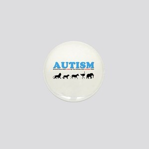 Autism, Around Since Noah Lin Mini Button