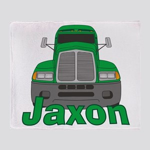 Trucker Jaxon Throw Blanket