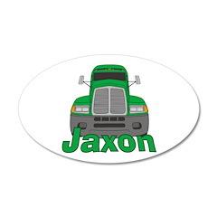 Trucker Jaxon 38.5 x 24.5 Oval Wall Peel