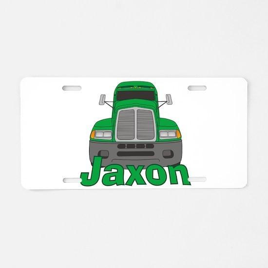 Trucker Jaxon Aluminum License Plate